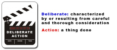 deliberate-action-sign